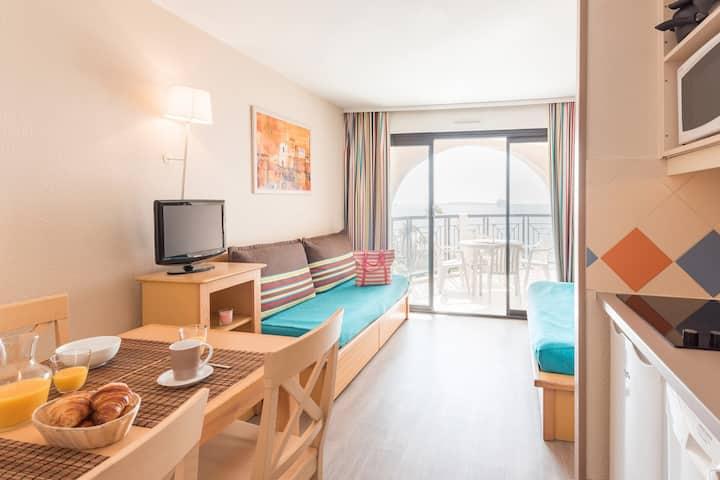 Résidence La Palme d'Azur - Appartement  vue mer