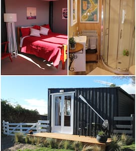 Diamond Harbour farmstay in a private cabin