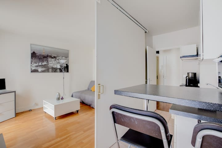 Ideal Studio For A Typical Parisian Stay !