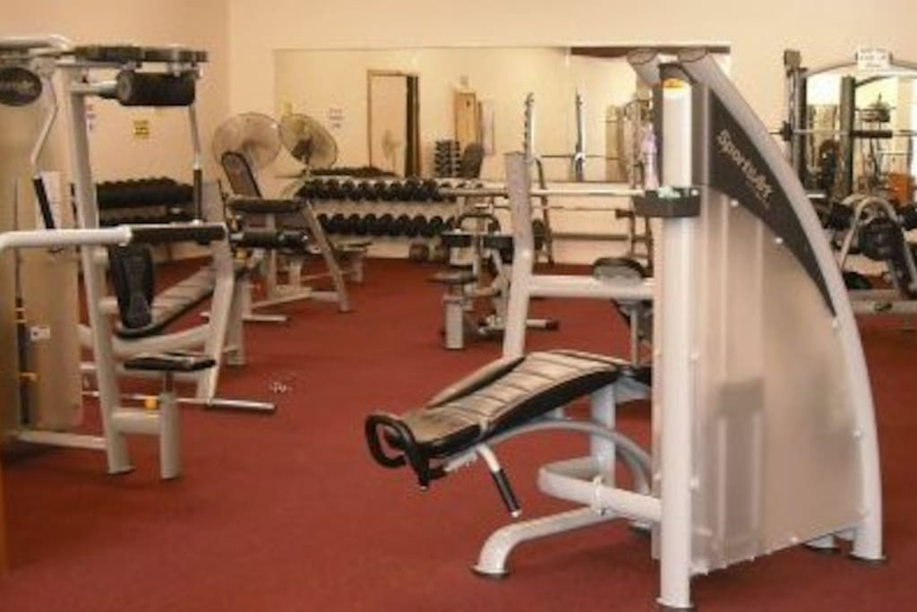 Fully facilitated gym onsite