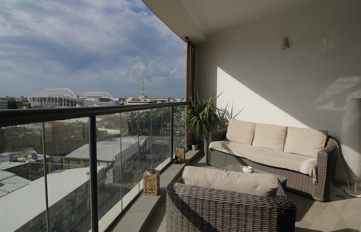 Wonderful Florentine area-2 bedrooms balcony
