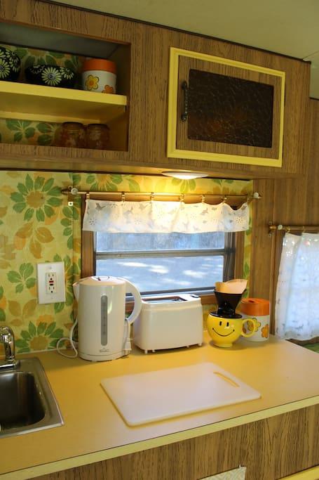 kitchenette with necessity