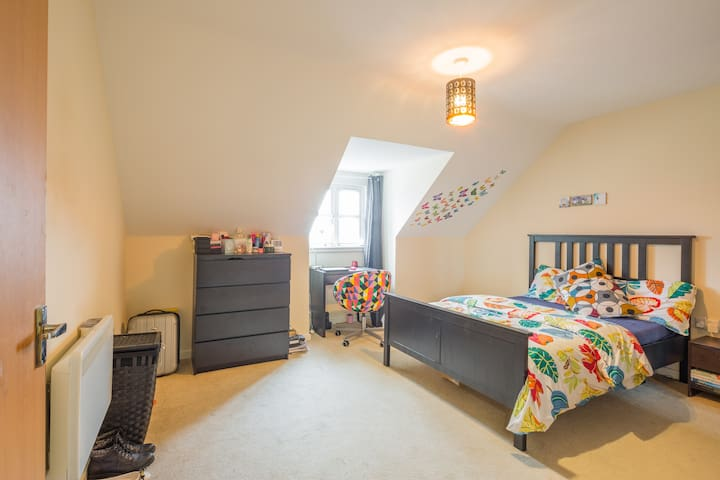 Double room in central Bedford - Bedford - Apartamento
