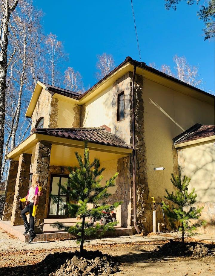 Прекрасный дом в самом сердце Сибирь