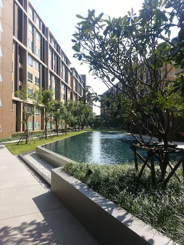 7th floor, D-Condo, Near Thammasat University - Tambon Khlong Nung - Apartmen