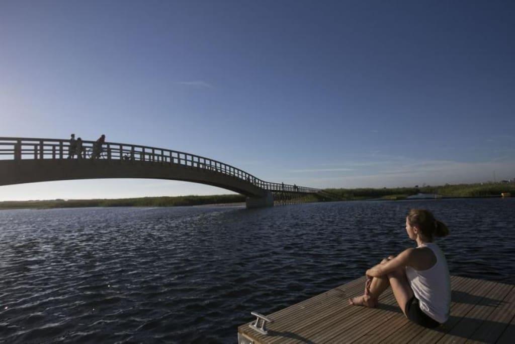Esmoriz lake