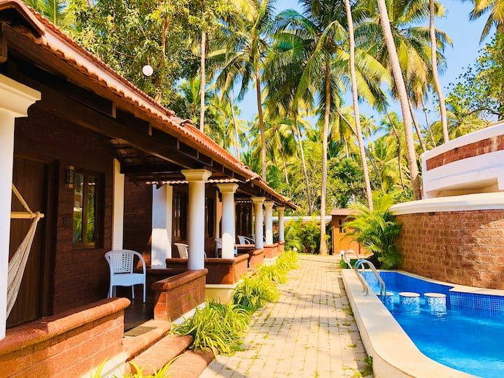 New Bali Style 6 Bhk Private Pool Space-Anjuna