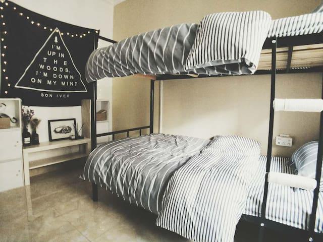 【等路】.#地铁口#台灣民宿#萬象城#科技园cozy accommodation near MTR