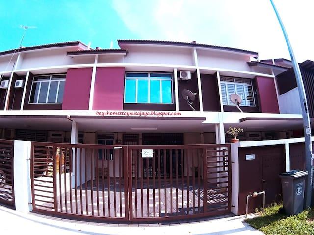 Bayu Homestay Nusajaya near Legoland & Johor Bahru - Johor - Hus