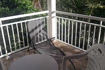 La terrasse et ses equipements extérieurs