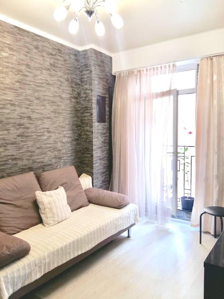 Квартира для отдыха на море с отдельной спальней