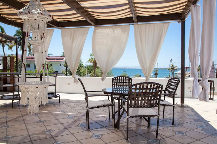 TERRACE CASA COFY Beautiful sunset with ocean view - La Paz  - Appartement