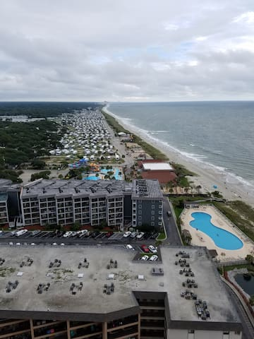 Walk to the Sand - Gated Oceanfront Condo 2 - Myrtle Beach - Lyxvåning