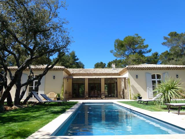 Chambre d'hôte à5km Aix en Provence - Saint-Marc-Jaumegarde - Gästehaus