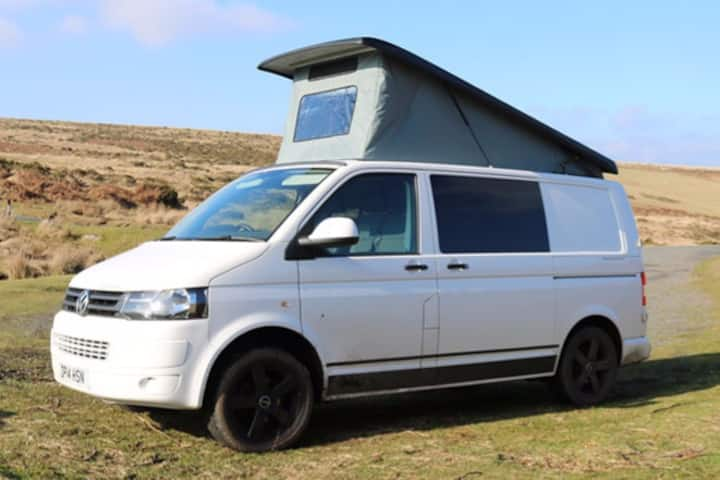 Bertha - VW Campervan for Hire Based in Devon