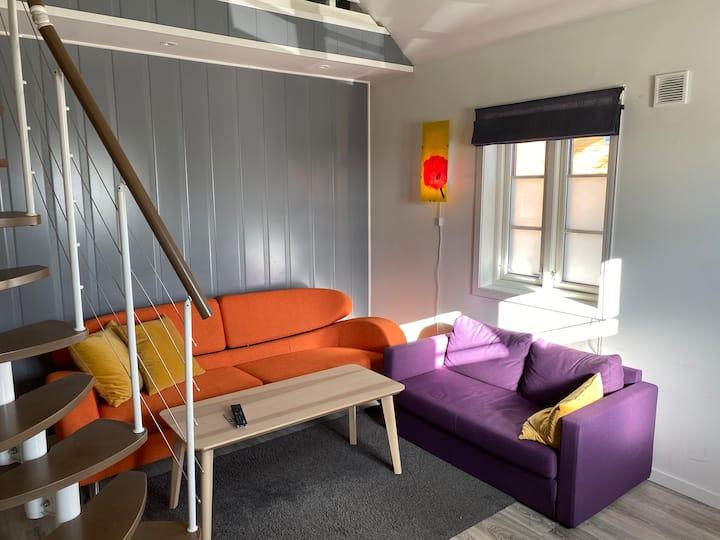 Koselig hybel leilighet med hems