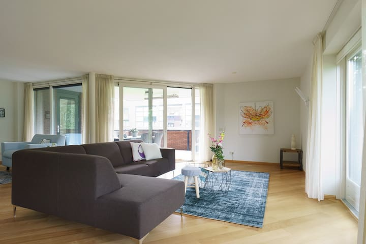 Amazing apartment with 'Heide'views in Hilversum - Hilversum - Daire