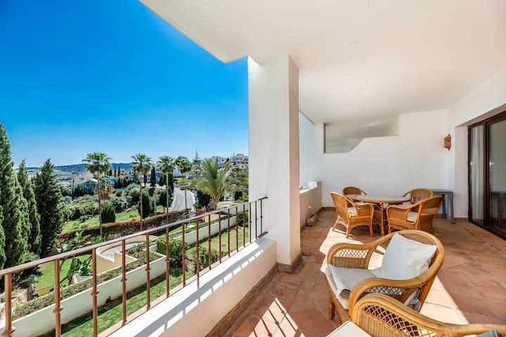 Beautiful 3 bedroom apartment in Mijas Golf