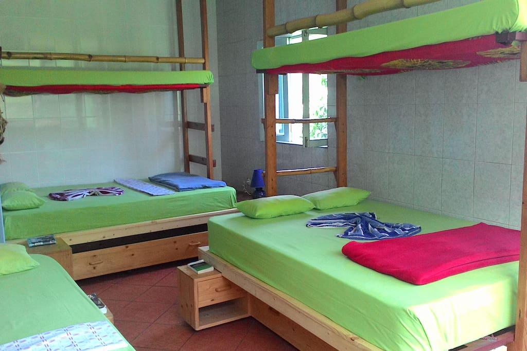 chambre idéale pour famille,groupe d'amis