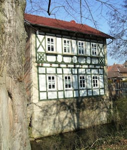 Beautiful half-timbered house, center of Meiningen - Meiningen