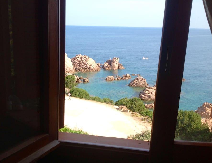 Camera matrimoniale - Visuale dalla finestra