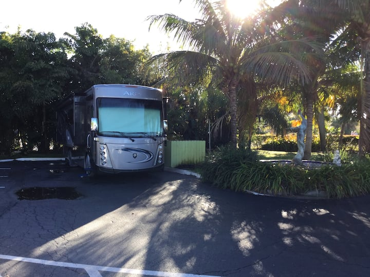 RV Site at the ParkView, Jensen Bch, Fl