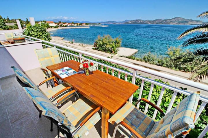 Apartments Stipo - Comfort Two Bedroom Apartment with Balcony and Sea View (A2)