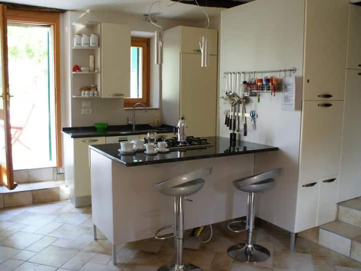 Poggio delle Querce, (Arcevia), Ferienwohnung, 45qm, 1 Schlafzimmer, max. 2 Personen