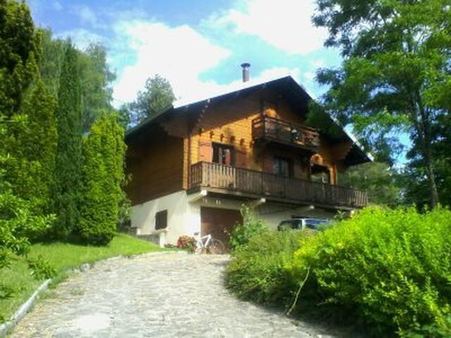 Le Chalet dans le Jura