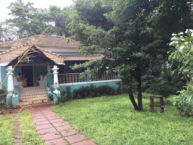 Beautifully Renovated Old Goan Home
