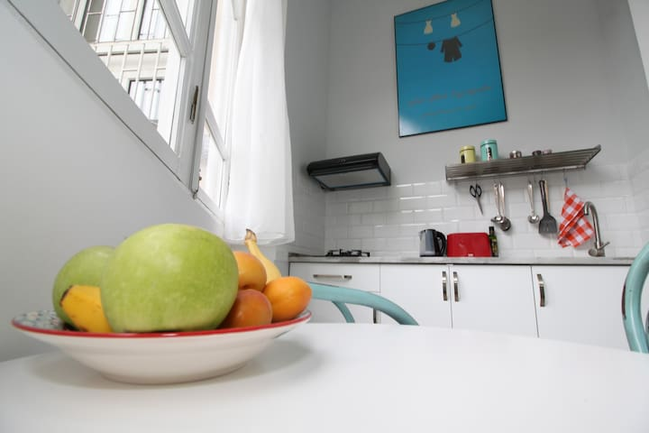 Functional kitchen with everything you need...