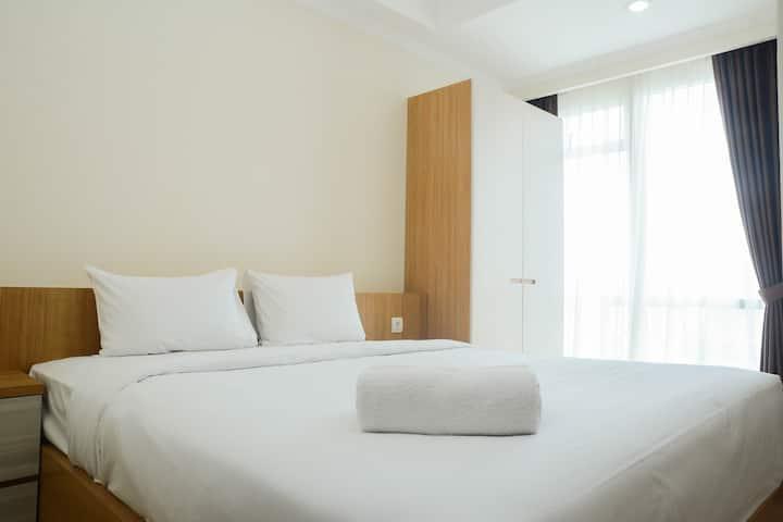 Minimalist and Comfy Studio Menteng Park Apartment