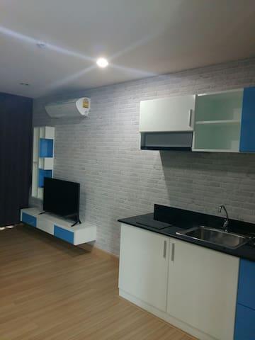D2-Bangsaen Condo - ตำบล แสนสุข - อพาร์ทเมนท์