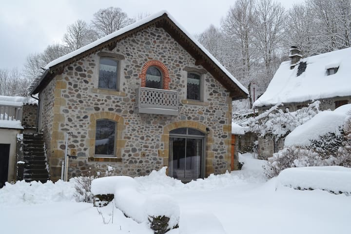 Gîte de charme massif du Cantal