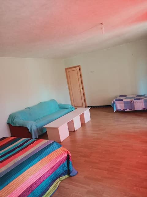 Amplia habitacion con baño privado