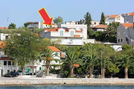 One bedroom apartment with terrace Sumartin, Brač (A-5620-b) - Sumartin - アパート