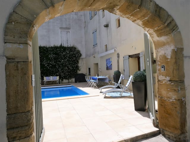 Villa in Centre of Charming Village w/ Heated Pool