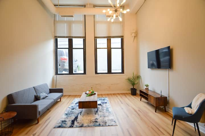 Brand New Loft in Downtown CLE. Sanitized!