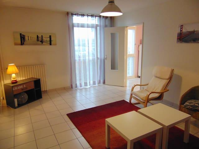 3 chambres colocation, idéal étudiant, proche UTC - Compiègne - Apartemen