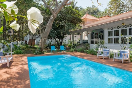 Inner Temple, Private Boutique Villa in Moira, Goa - Moira - Villa