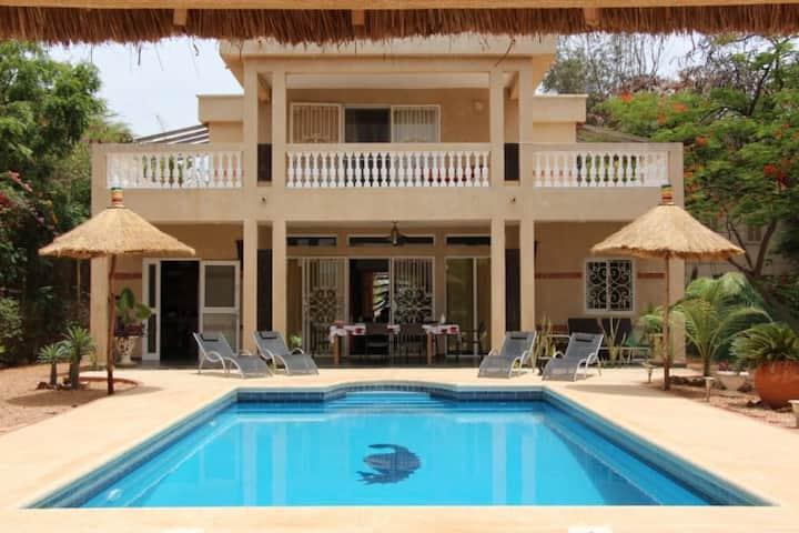 Villa climatisée 10 personnes prox. mer et lagune
