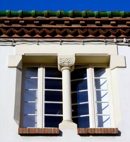 Architect house + patio  - beach 20mn -free cancel
