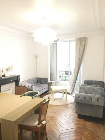 Paris: Appartement 15 min Tour Eiffel