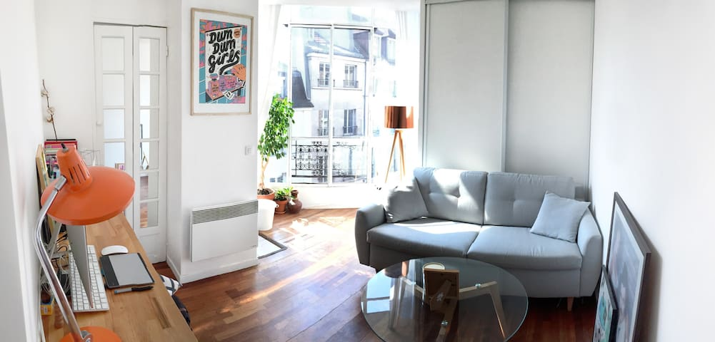 Nice and comfy studio in the heart of Paris