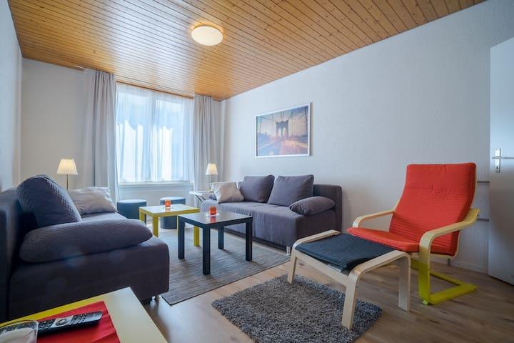 3 room ground-floor apartment Zurich