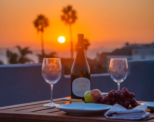 Spectacular California sunsets