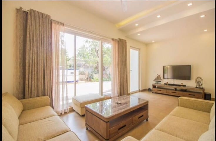 3 Bhk Luxurious Villa In Anjuna Near Thalassa