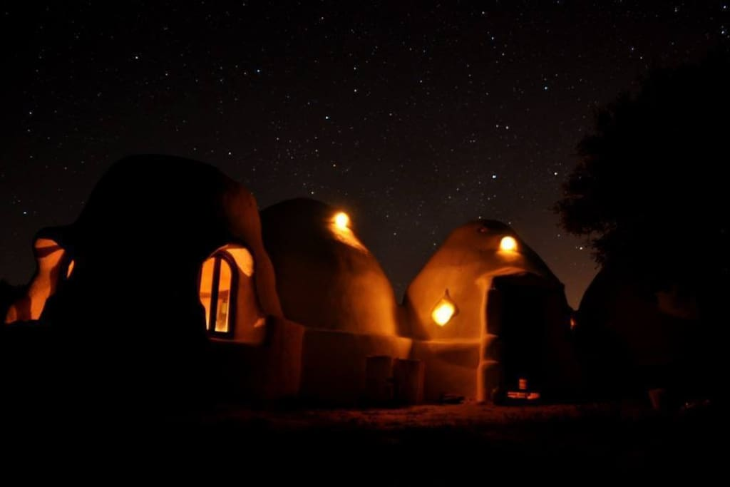 Amazing nights inside and outside the domes...