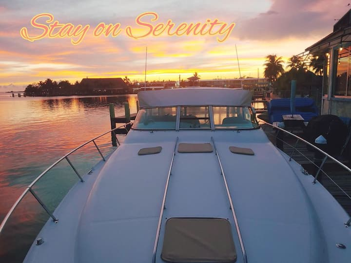 "Yacht in Key Largo ""SERENITY"""