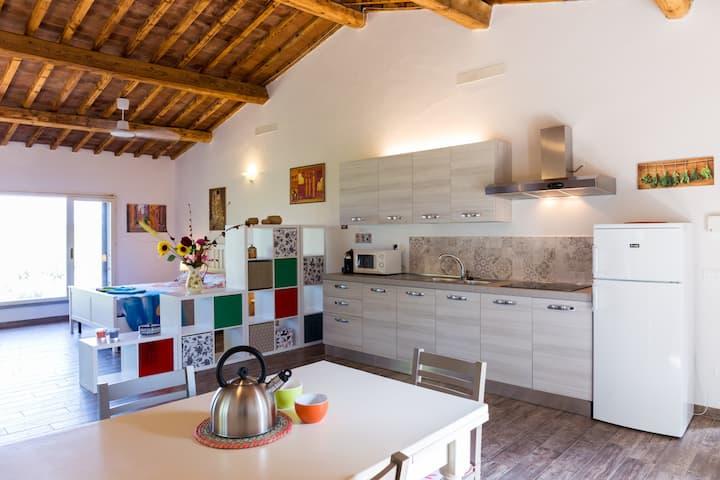 Appartamento in casale colline fiorentine